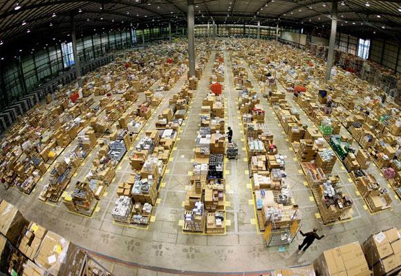 Almacén de Amazon en Nueva York