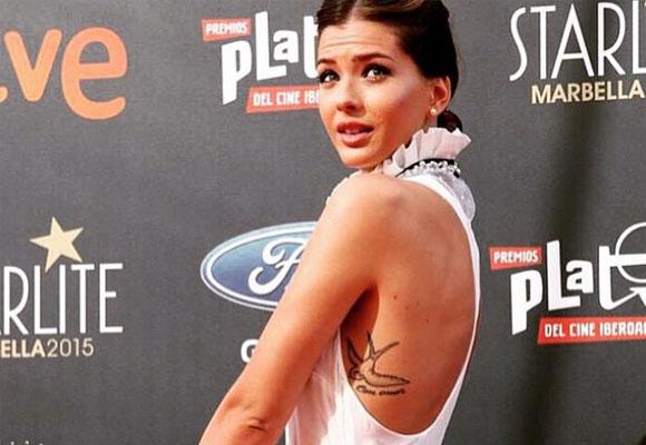 'La China' Suárez en la entrega de premios Starlite