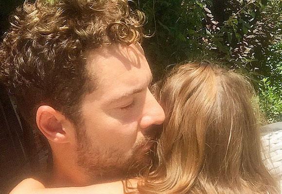 David Bisbal junto a su hija Ella. Foto: Instagram Bisbal