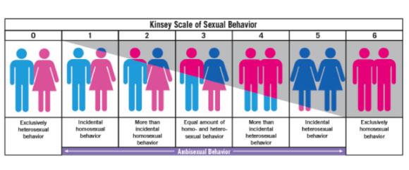 Escala de Kinsey sobre el comportamiento sexual