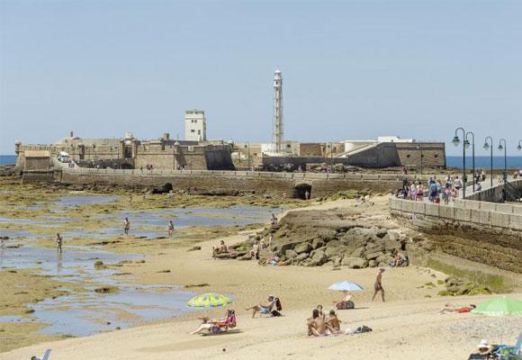 Castillo de San Sebastián, Cádiz. Haz clic para comprar las entradas