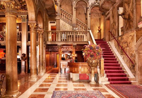 Danieli Hotel Venice, lobby