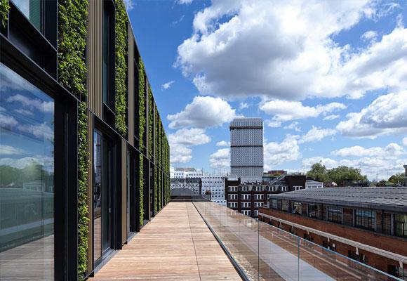 Terraza del edificio