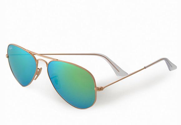 Gafas de sol para la exposición solar