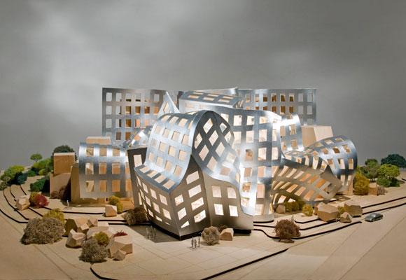 Maqueta del edificio. Foto: