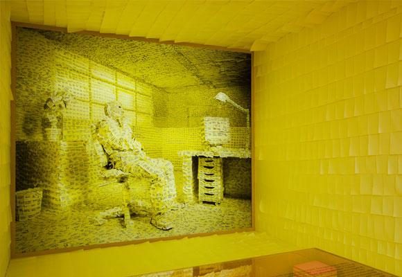 Notas adhesivas. Copy: Vitra Design Museum. Foto: Bettina Matthiessen