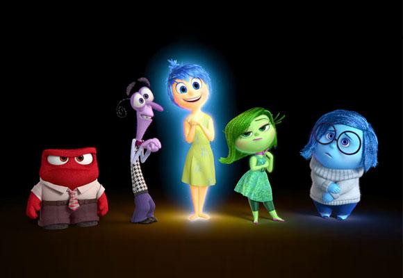 Las cinco emociones básicas de Pixar