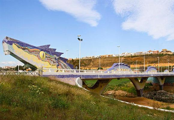 Puente del Dragón en Alcalá de Guadaira