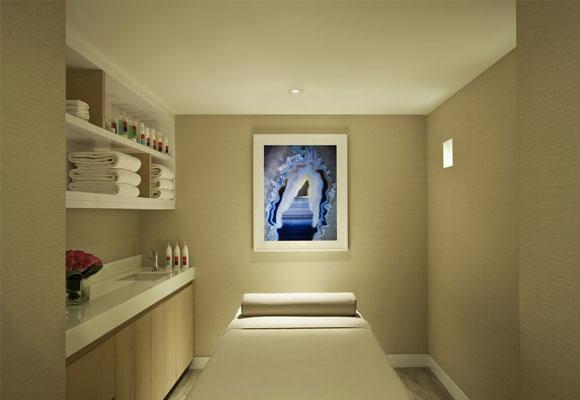 Cabina de tratamiento en el Loews Hotel de Park Avenue. Foto: Hotel Loews