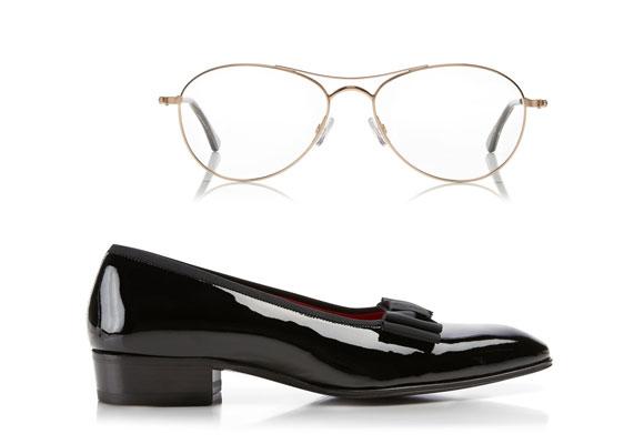 Zapatos y gafas Tom Ford. Haz clic para comprar