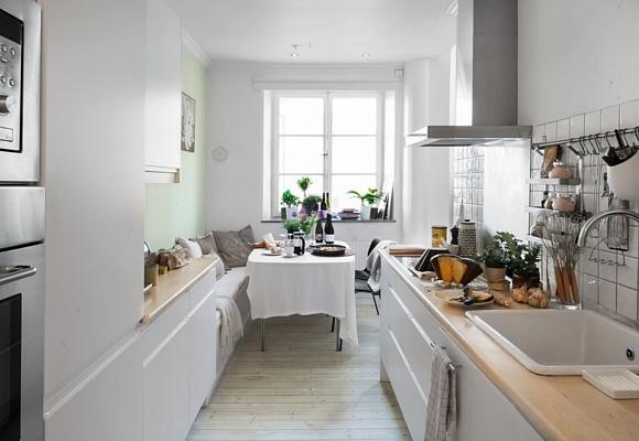 Trucos para cocinas peque as the luxonomist - Cocinas rectangulares pequenas ...