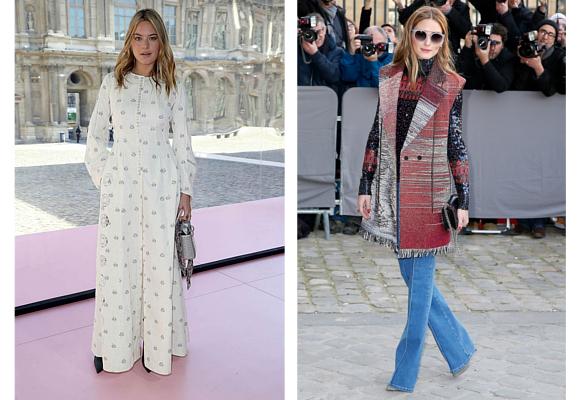 Dior 5 Camille Rowe y Olivia Palermo