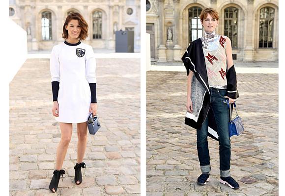 Dior 6 Hanneli Mustaparta y Stella Tenant