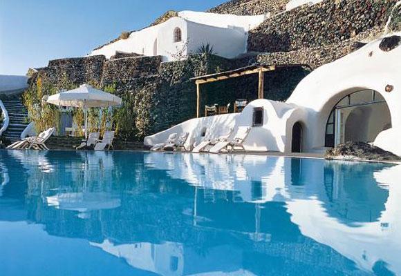 Hotel Perivolas, piscina