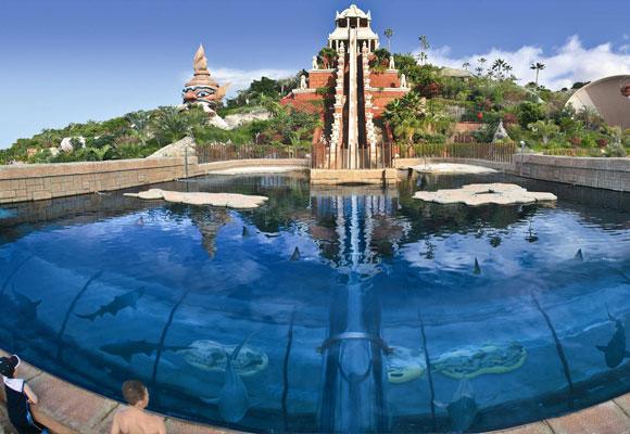 El mejor parque acu tico del mundo en tenerife the for Piscinas de monzon