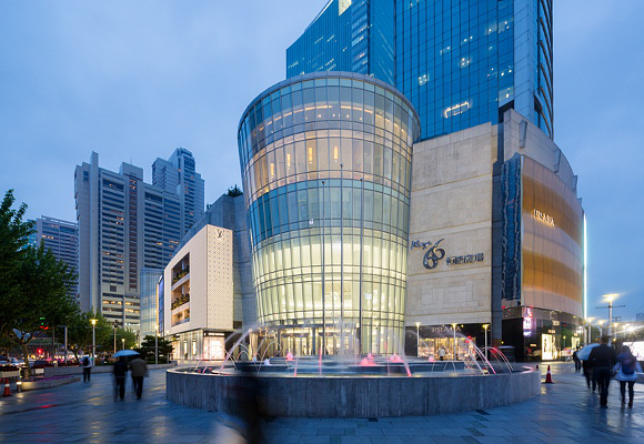 shanghai_plaza_66_ exterior de centro comercial