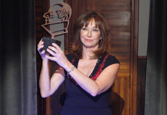 Ana Rosa fue la primera en recibir su premio