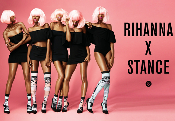Stance Rihanna 2