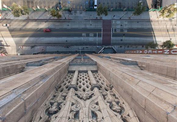 Vista desde la fachada del Ace Hotel