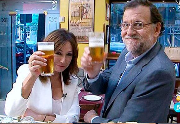 Ana Rosa pasó 24 horas con Mariano Rajoy