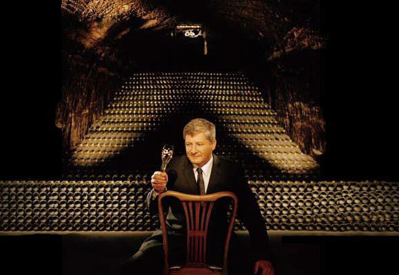 Hervé Deschamps chef de cave Perrier-Jouët