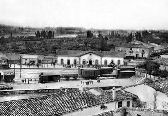 El Barrio de la Estación hace 150 años