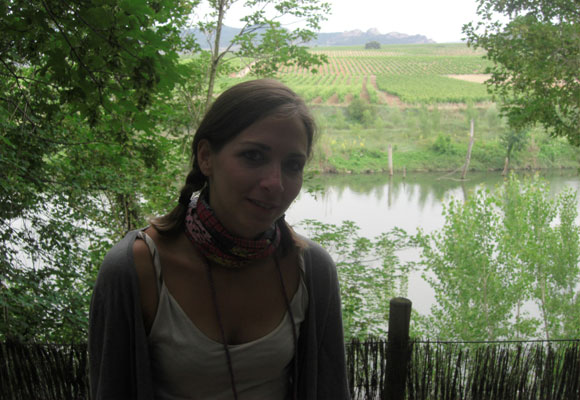 Nuestra compañera Rocío García Francoy en el mirado de La Roda