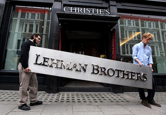 No está tan lejos la quiebra de Lehman Brothers