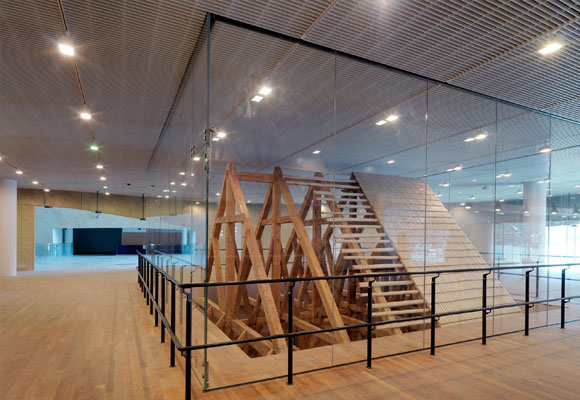 Interior del Museo Polin