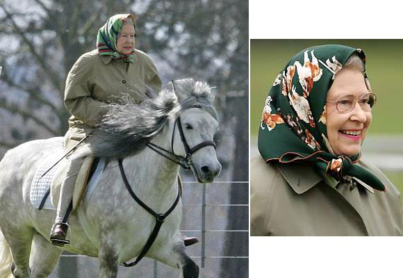 En sus salidas al campo suele utilizar prendas de abrigo de la firma Barbour