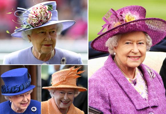 Cuatro sombrereras trabajan al servicio de la reina