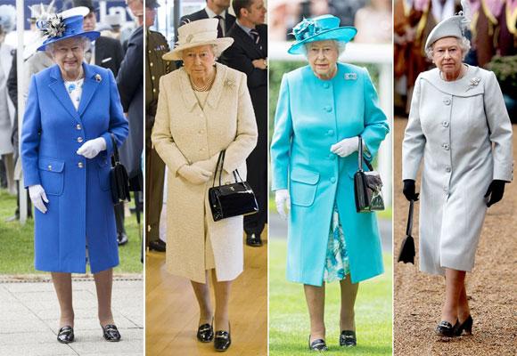 Los mismos zapatos, el mismo corte de abrigo y sombreros