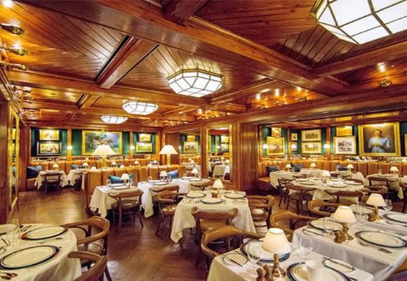 Restaurante Ralph Lauren en NYC