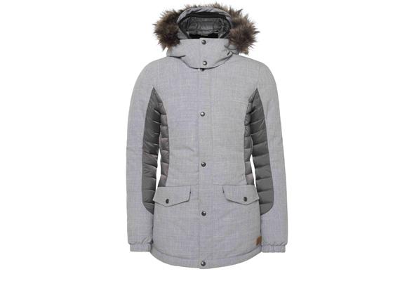 Hybrid Jacket de O'Neill en color gris con pelo