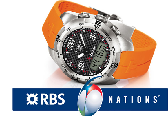 Reloj edición especial de Tissot para la Rugby Worl Cup. Cómpralo aquí
