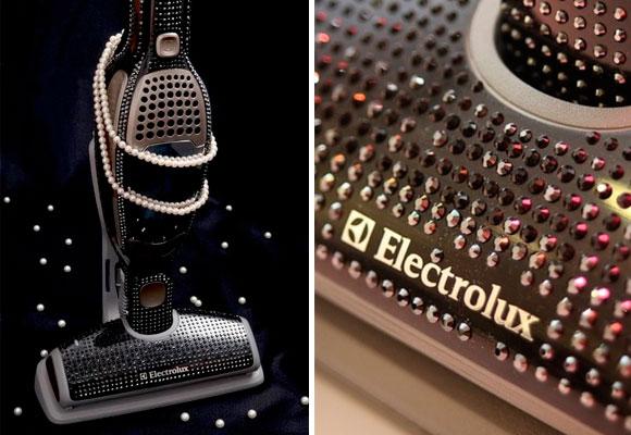 Aspiradora Electrolux con cristales Swarovski