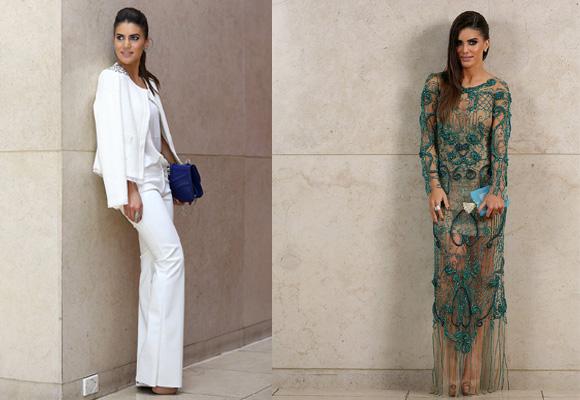 Camila Coelho destaca por su estilo glamuroso chic