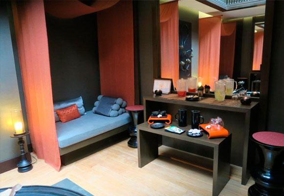 Cabinas de masaje en el Hotel