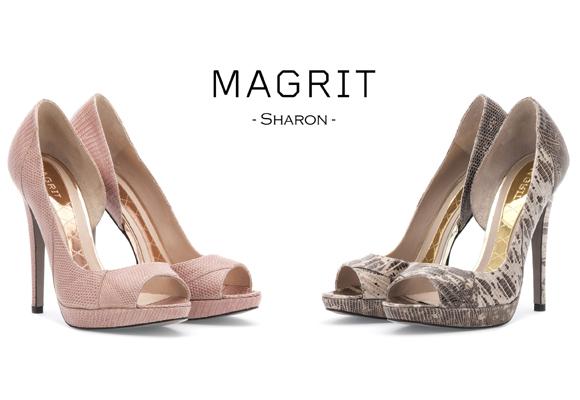 Salones peep toes de Magrit. De venta aquí