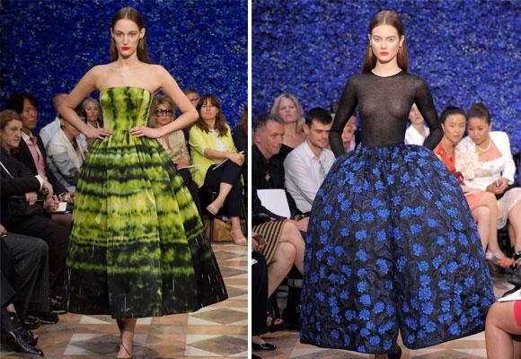 Último desfile de Raf Simons para Dior en París