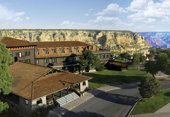 Hotel El Tovar en el Gran Cañón. Haz clic para reservar
