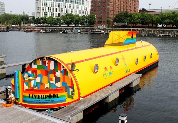 ¿Qué te parece en un submarino? Resérvalo aquí