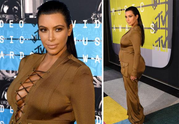 Kim en la gala de los MTV