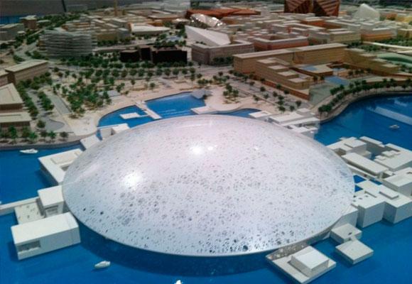 Vista aérea del museo