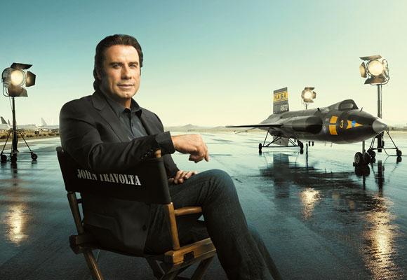 John Travolta es imagen de Brietling