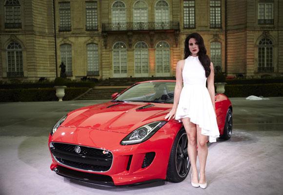 Lana del Rey fue imagen del Jaguar