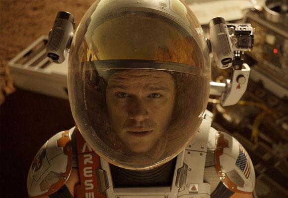 Matt Damon viaja a Marte de la mano de Ridley Scott