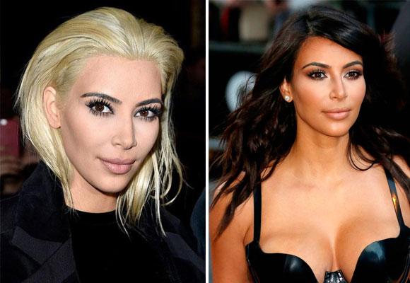 Kim nos gusta más con su color de pelo