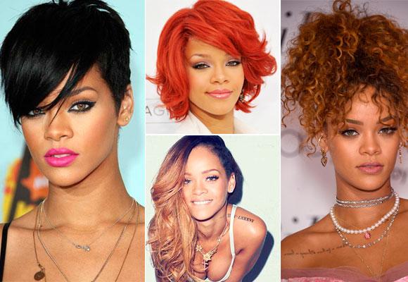 Rihanna nos ha sorprendido en numerosas ocasiones con sus cambios de look