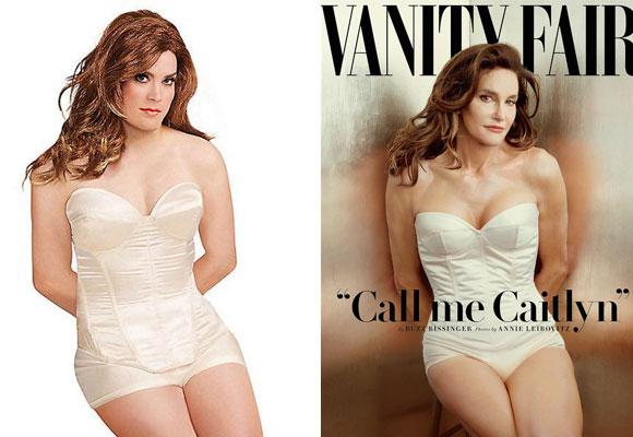 Disfraz de Caitlyn Jenner en corsé